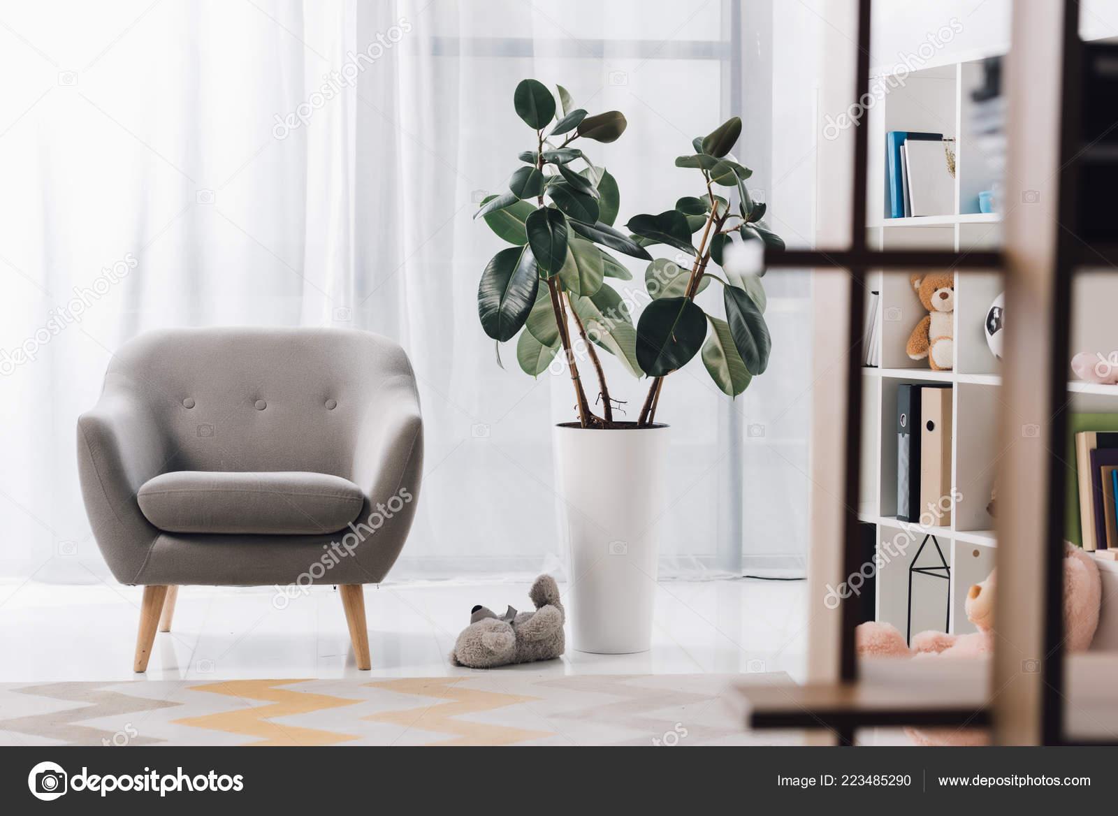 Interior Modern Child Psychologist Office Stock Photo