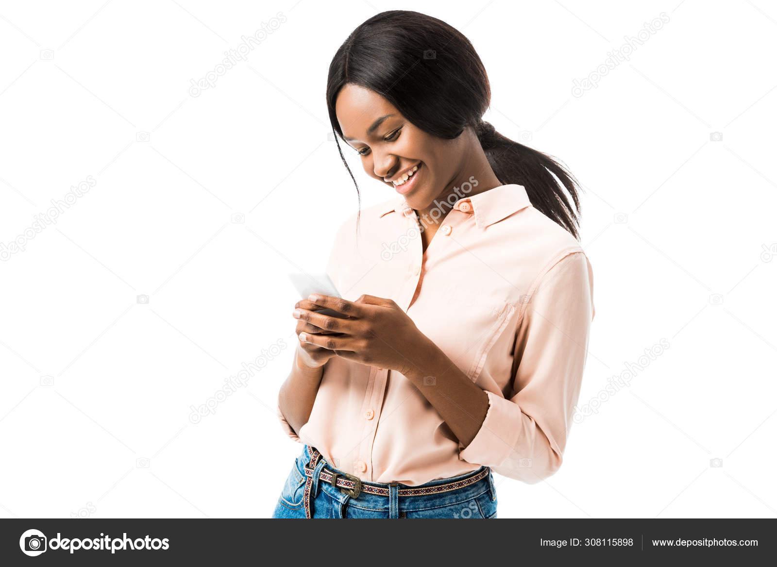 Weißes Mädchen beten schwarzes Mädchen an