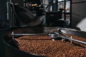 Fotografie Interiér výrobnu kávy s pracovní pražení stroj