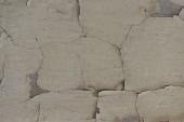 Fotografie Detailní pohled staré šedivé zvětralé zdi textury