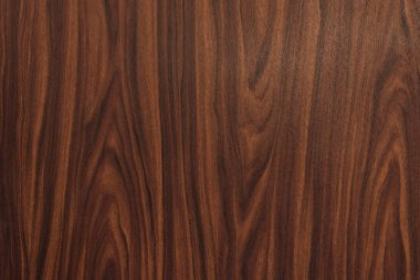 close-up view of dark brown hardwood texture