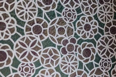 full frame background of beautiful decorative floor
