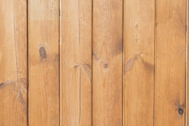 Light brown wooden planks textured background stock vector