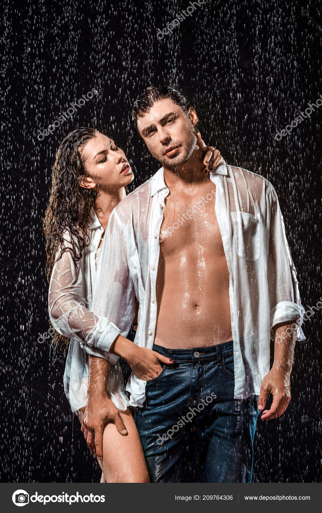 Agree with photos of sexy model couple really