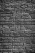 temné grunge zvětralé cihlová zeď na pozadí, plnoformátový zobrazení