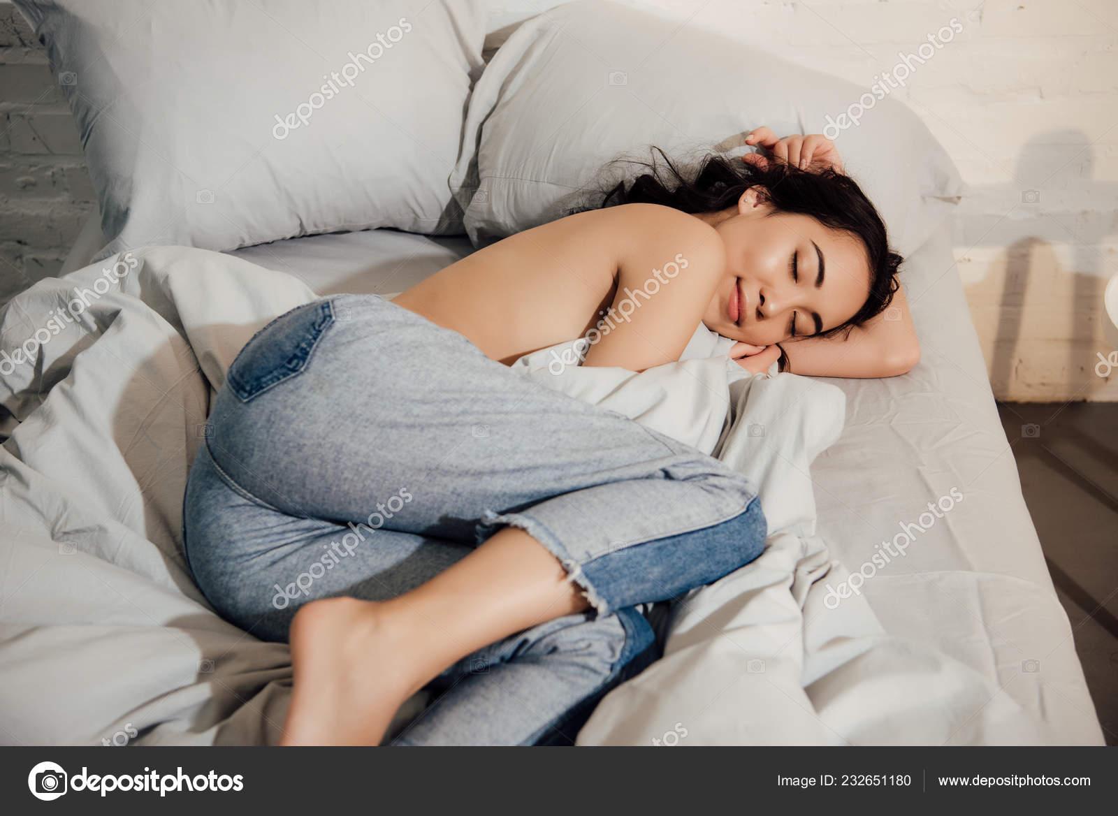 Question interesting, girl sleep topless like topic