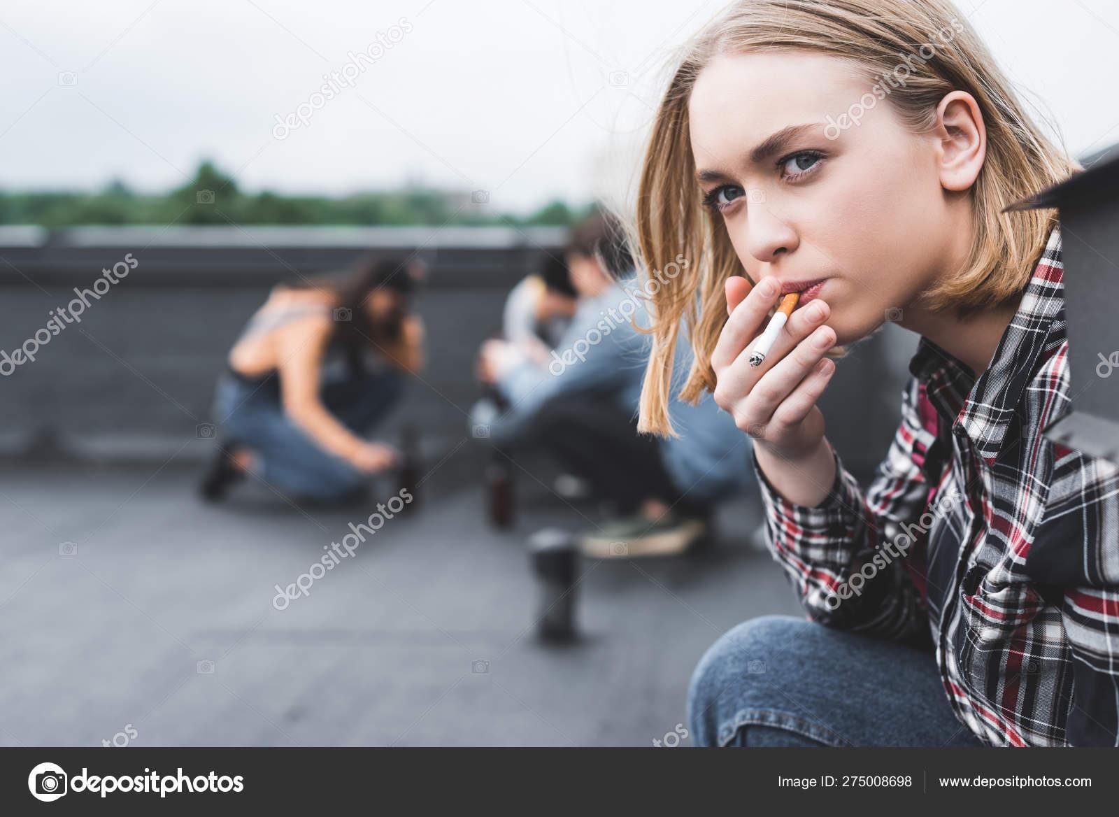 Smoking young videos girls Watch: A