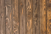 top view of wooden brown textured surface