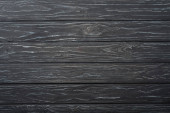 top view of grey wooden surface