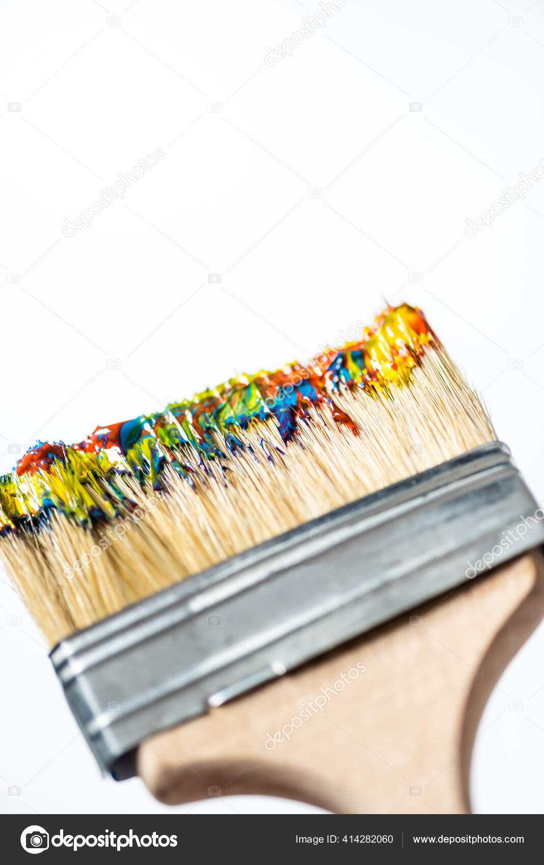 redondo acr/ílicos y carteles de cristal y porcelana para pinturas de tela Pincel universal de pelo de pony buena estabilidad dimensional buen comportamiento de pintura sint/ético tama/ño 0