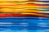 abstract colorful background with paint brushstrokes