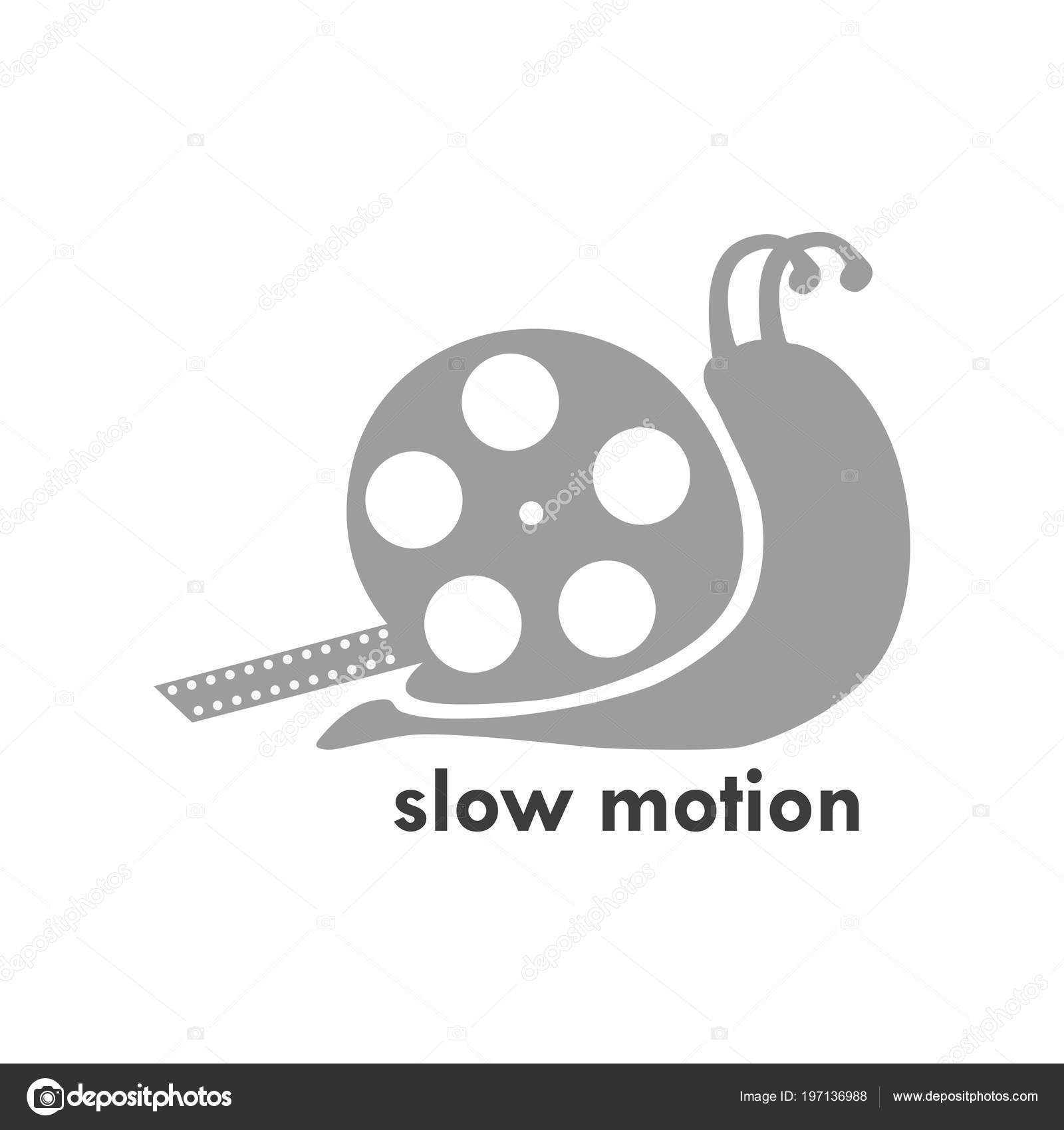 Slow Motion Logo Template Stock Vector Blazerrss 197136988