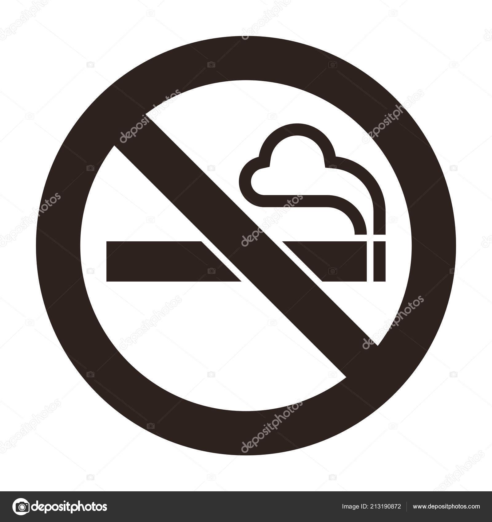 Cartello vietato fumare scarica