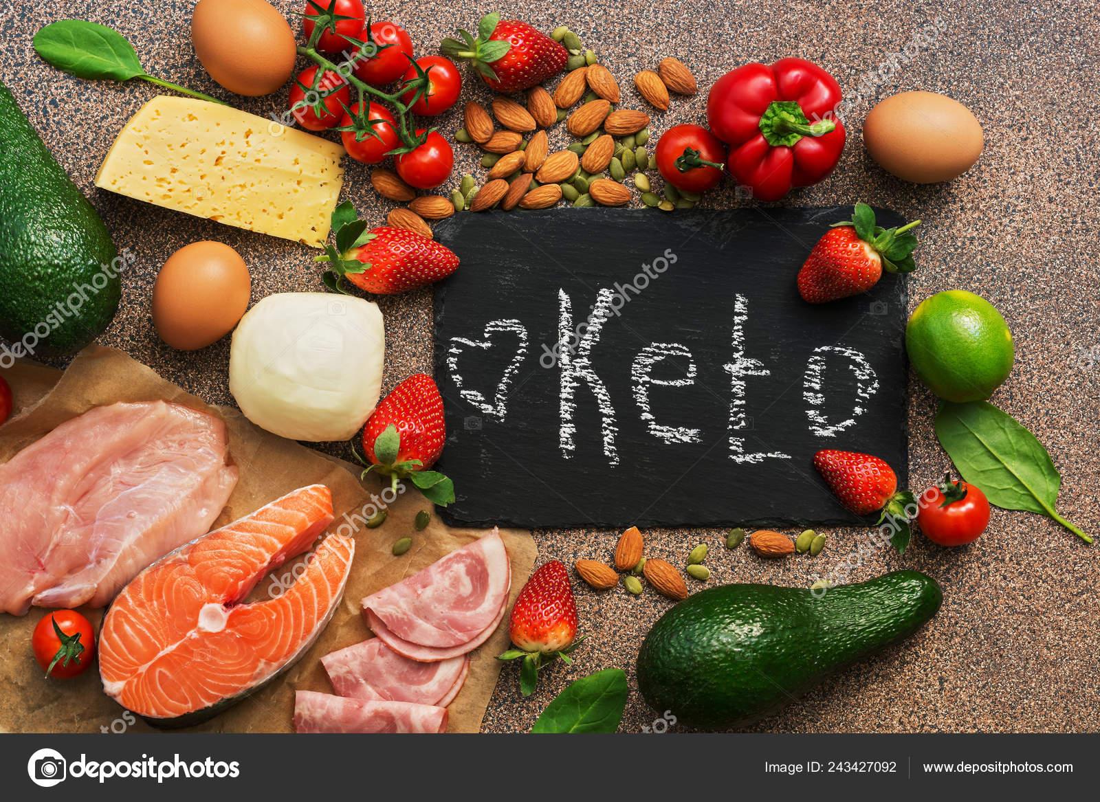 Comida dieta keto