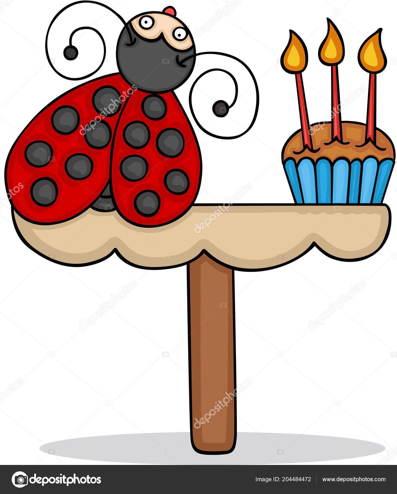 Stupendous Images Insect Birthday Cake Cute Ladybug Birthday Cake Stock Funny Birthday Cards Online Aeocydamsfinfo