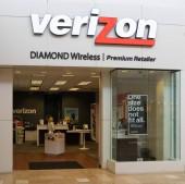 Chandler,AZ/USA-7.24.18: Cellco partnerství, podnikající jako Verizon Wireless, je americký komunikační společnost nabízí bezdrátové produkty  služby