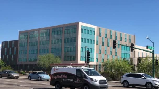 Phoenix, Az, a Usa - 9.16.2018 Szövetségi Nyomozóiroda vizsgálat Fbi épület létrehozó lövés, Phoenix, Az