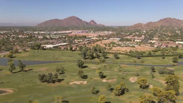 Camelback Mountain, található Phoenix közelében Scottsdale, Arizona, USA 60fps