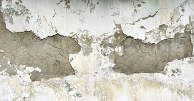 old plastered brick wall. old plaster texture background.