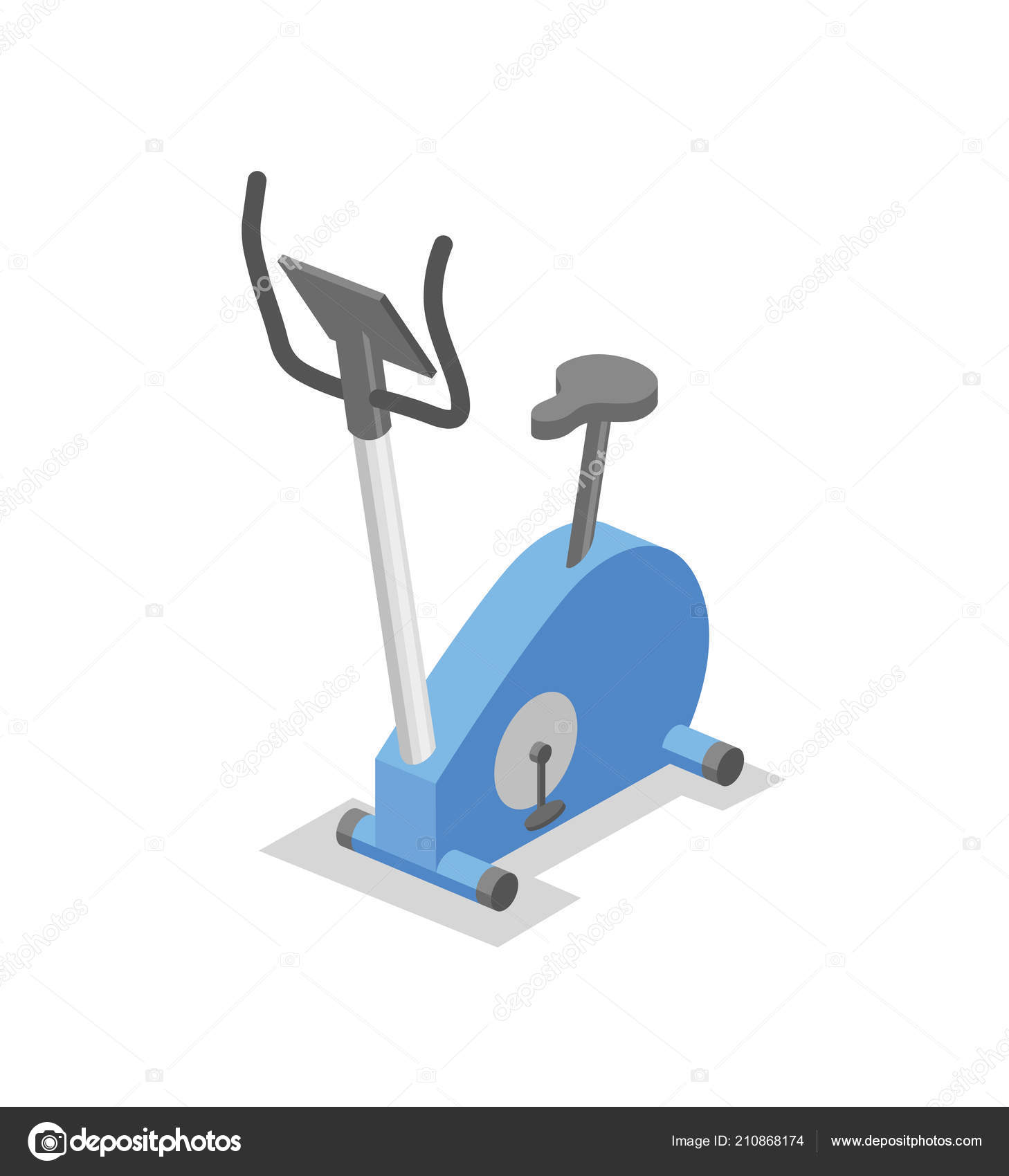 Spin bike, training apparatus for the gym  Fitness equipment