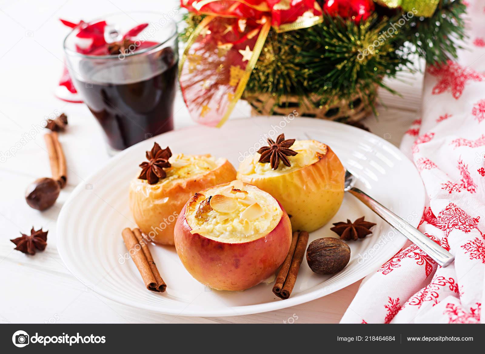 яблоки с миндалем