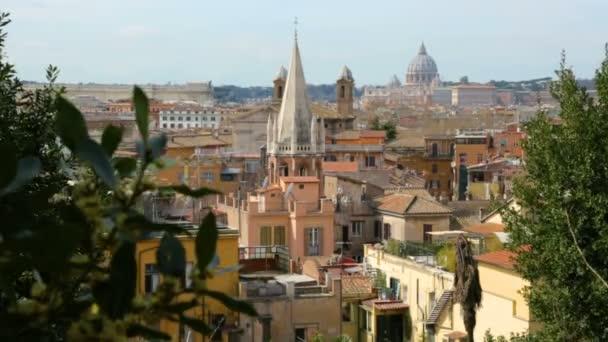 Blick auf Rom von der Pincio-Terrasse