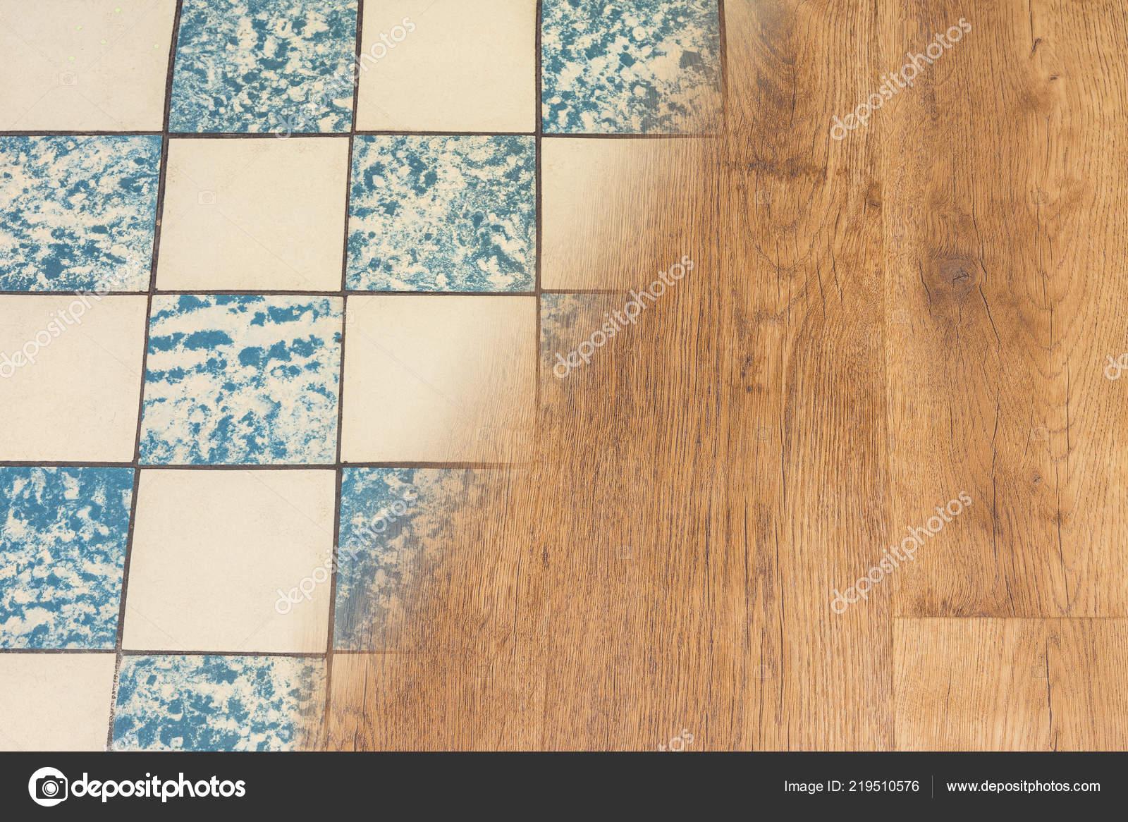 Retro mattonelle ceramica pavimento vinile moderno concetto