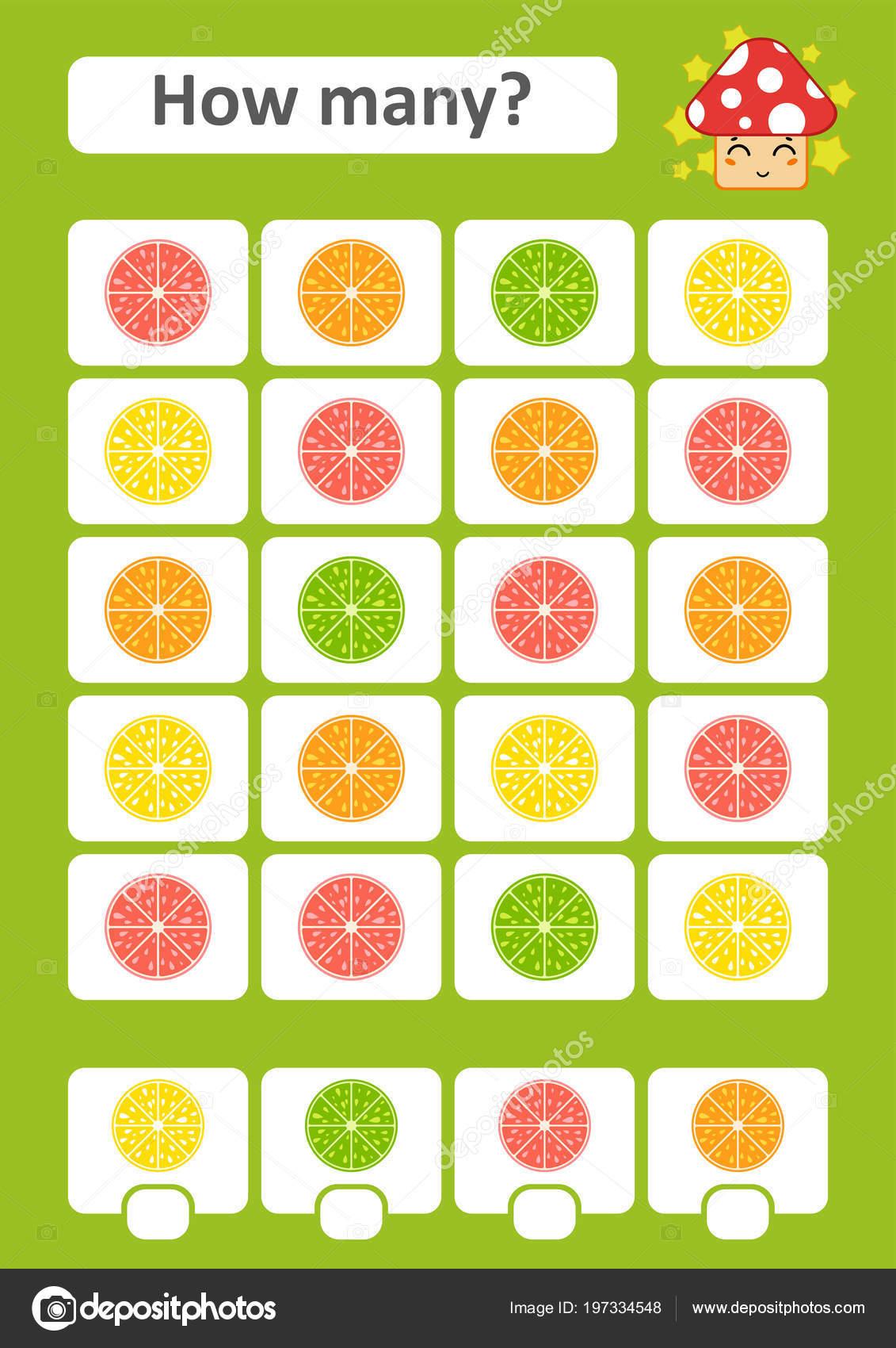 Spiel Für Kinder Vorschulalter Zählen Das Studium Der Mathematik Wie ...