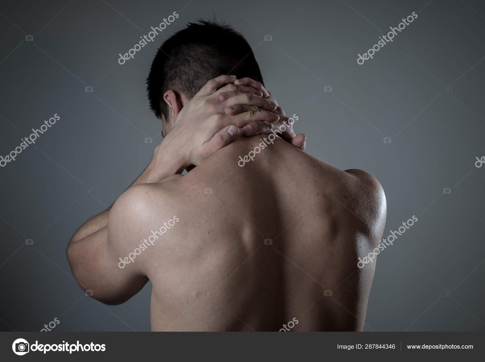 Entrenamiento tocar muscular del dolor después al