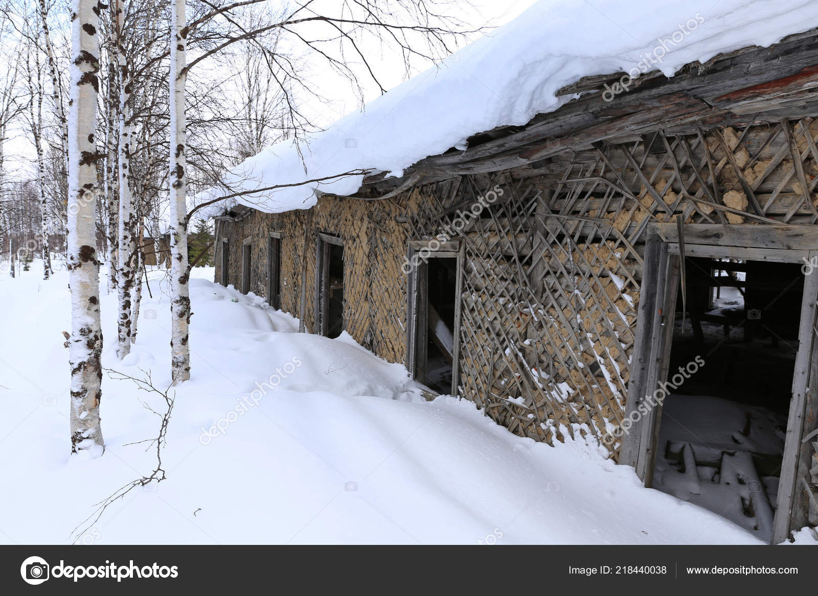 Old Prison Barracks Stalin 501 Construction Sites Gulag