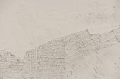 Fotografia immagine di telaio completo della priorità bassa della parete stucco