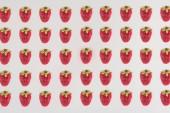 Sorok eper elszigetelt fehér background