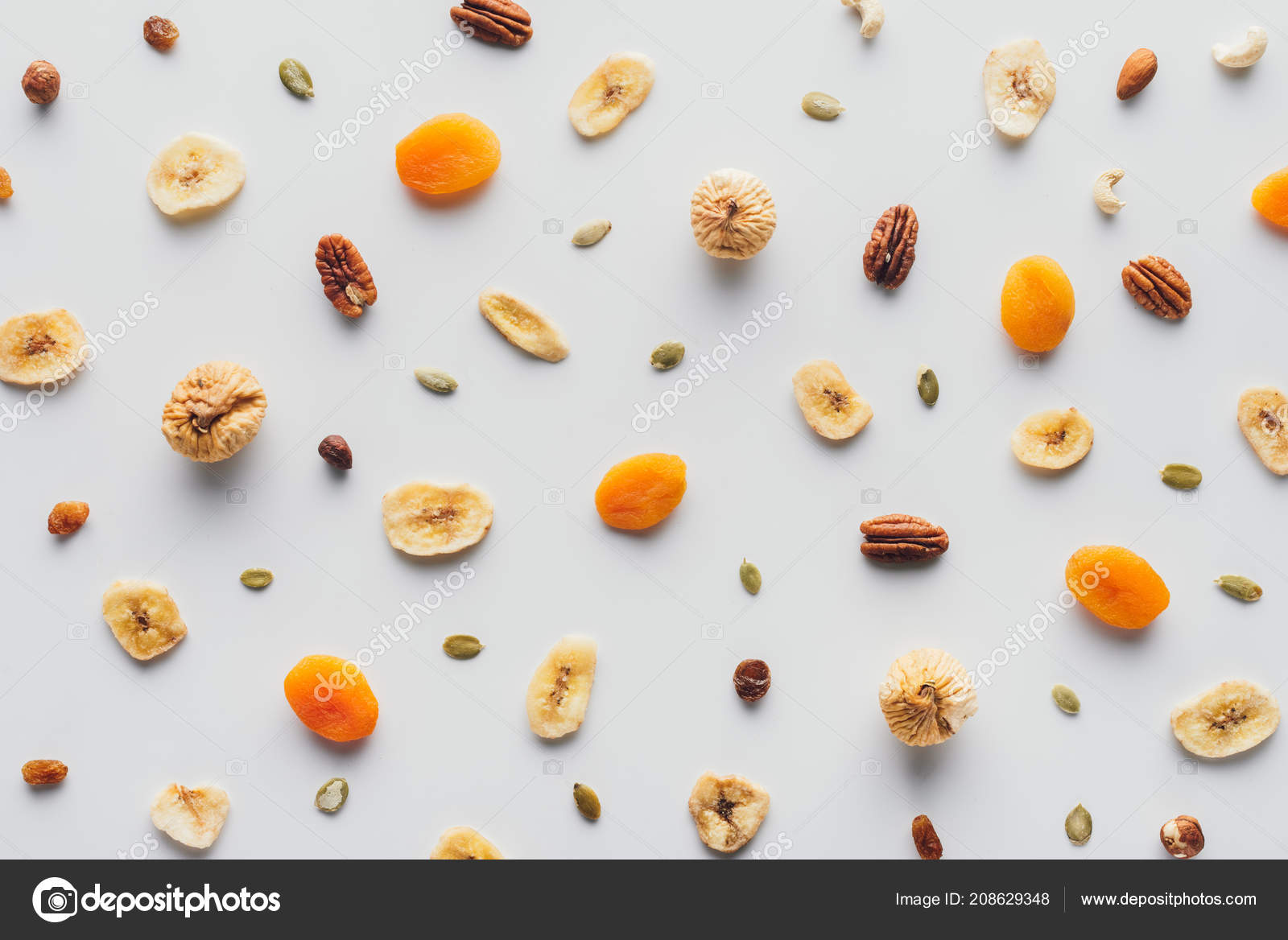 Top View Tasty Dried Fruits Nuts Isolated White Background ― Stock Photo © VadimVasenin #2086293481600 x 1168 jpeg 150kB