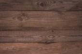 Fotografie Detailní pohled hnědé dřevěné pozadí s horizontální lamely