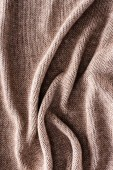 plný rám složený pletené látky jako pozadí