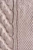 plnoformátový pletené tkaniny se vzorem jako pozadí