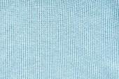 zblízka pohled modré vlněné látky jako pozadí