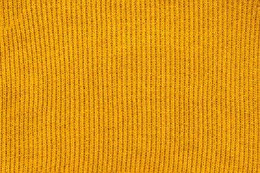 tam kare sarı yün kumaş zemin