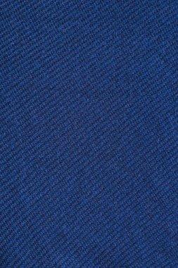 Full frame of blue woolen backdrop stock vector