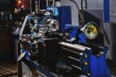 Fotografie Selektivní fokus průmyslu obráběcích strojů na výrobu továrna