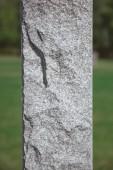 Fotografie Nahaufnahme Bild von Stein Denkmal am Friedhof