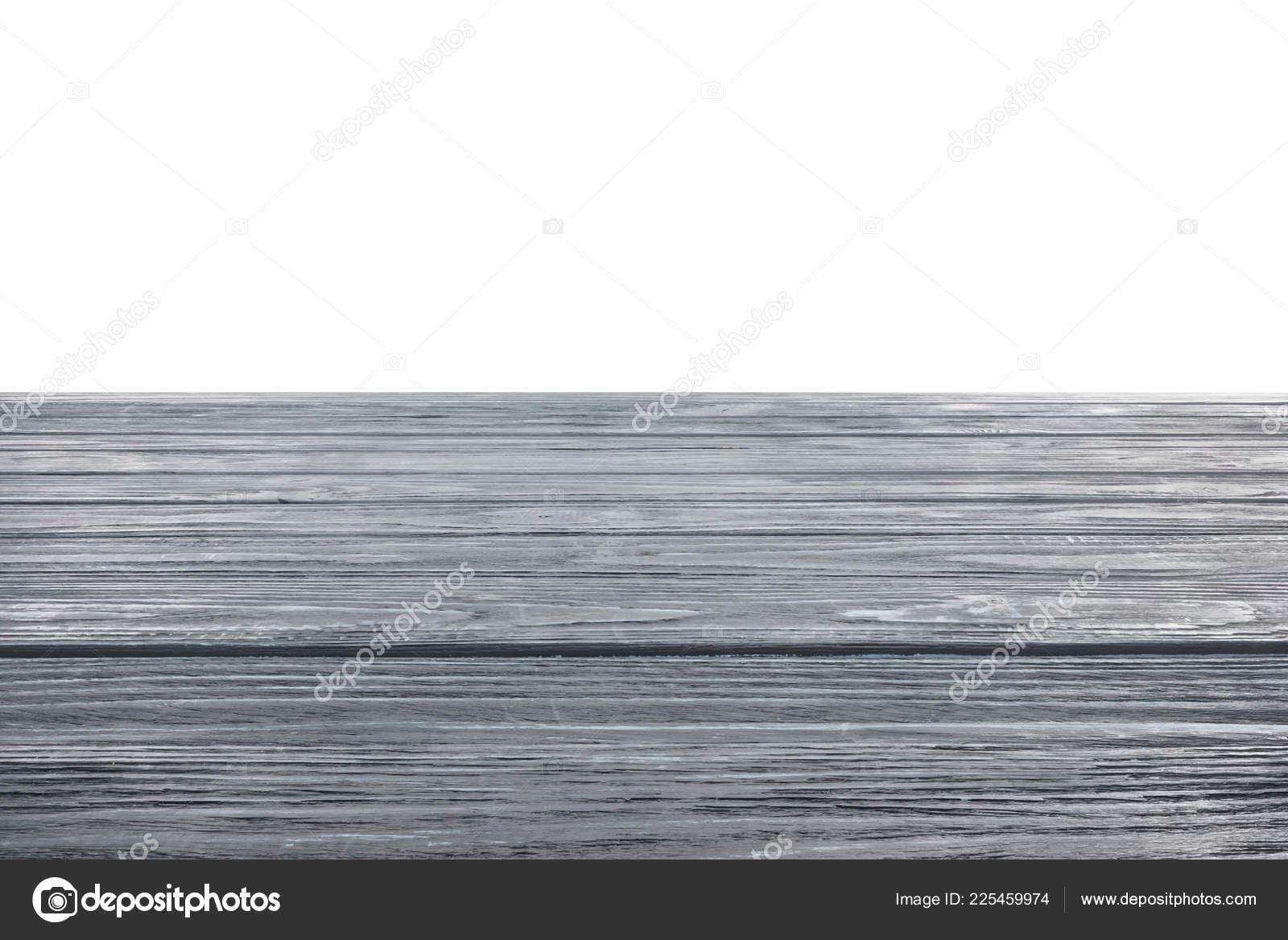 Houten Vloer Grijs : Sjabloon van grijs houten vloer witte achtergrond u stockfoto