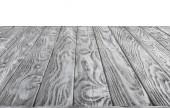 Fotografie povrch šedý Dřevěná prkna na bílém pozadí