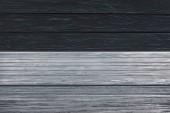 Šablona šedé dřevěné podlahy na černou prkna pozadí
