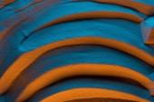 Fotografie horní zobrazení texturovaného pozadí s barevným filtrem