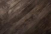 vista dallalto della struttura in legno marrone vuoto