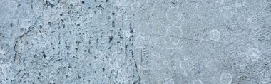 Rough abstract grey concrete background texture, panoramic shot stock vector