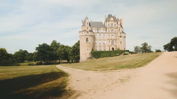 Chateau de Brissac in the Loire Valley of France