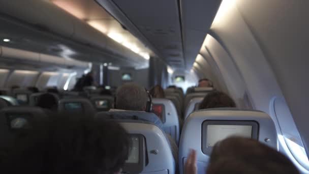 Během letu na palubě
