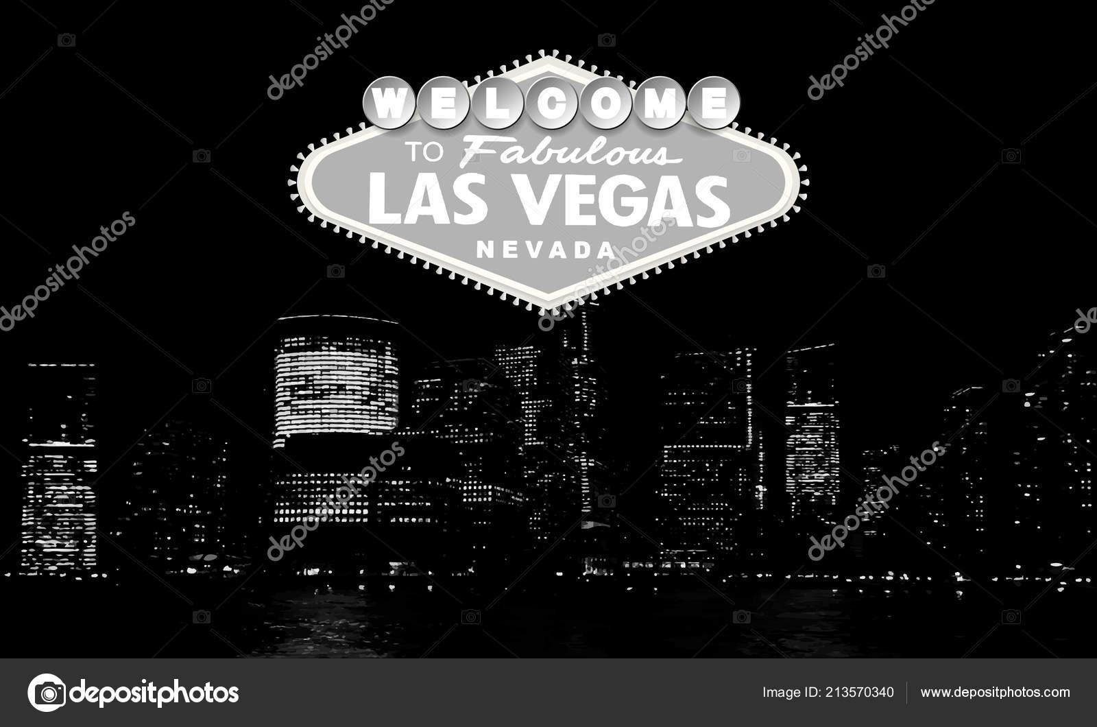 Welcome To Fabulous Las Vegas Nevada Classic Retro Welcome To Las